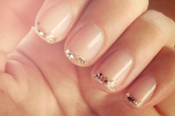 Wedding nails: Makeup Nails, Hair Make Up, Cute Nails, Wedding Nails, Beautiful Nails, Glitter Nails, Hair Makeup, Nails Ideas, Glitter Tips