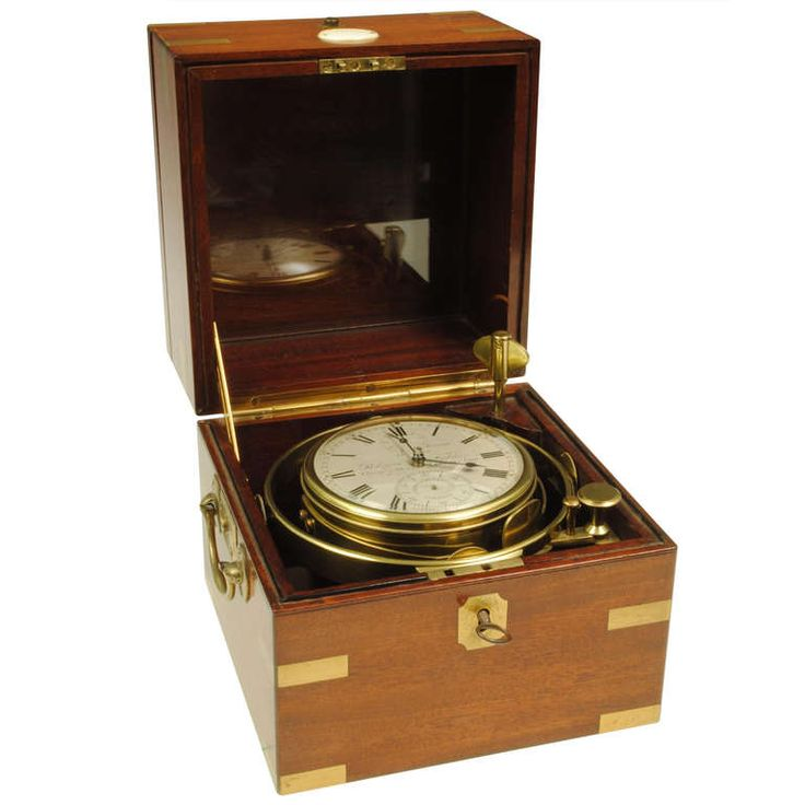 Rare 8 Day Marine Chronometer   From a unique collection of antique and modern clocks at https://www.1stdibs.com/furniture/more-furniture-collectibles/clocks/ Rare 8 Day Marine Chronometer  Offered By Hansord  $18,849