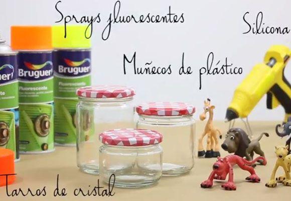 Como decorar tarros con pintura fluorescente  http://qoo.ly/gurr6  www.finquesmarcel.com finquesmarcel@finquesmarcel.com 93 879 17 67