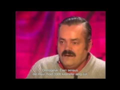 Mexicaanse metser die van Donald Trump een muur moet bouwen Tussen Mexic...