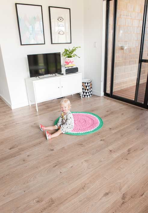 Godfrey Hirst | Laminate flooring | Get the look with Vue Laminate in Mountain Parchment #godfreyhirst #laminateflooring #laminate #floors #flooring #hardflooring