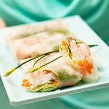 Skaldjur: Vietnamesiska vårrullar
