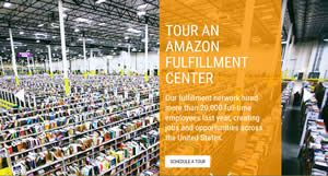 FREE Amazon Fulfillment Center Tours on http://www.icravefreebies.com/