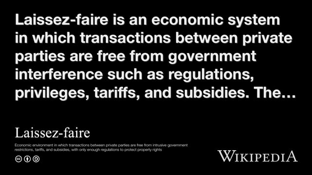 """""""Laissez-faire"""" on @Wikipedia: I don't know where these other pins came from???"""