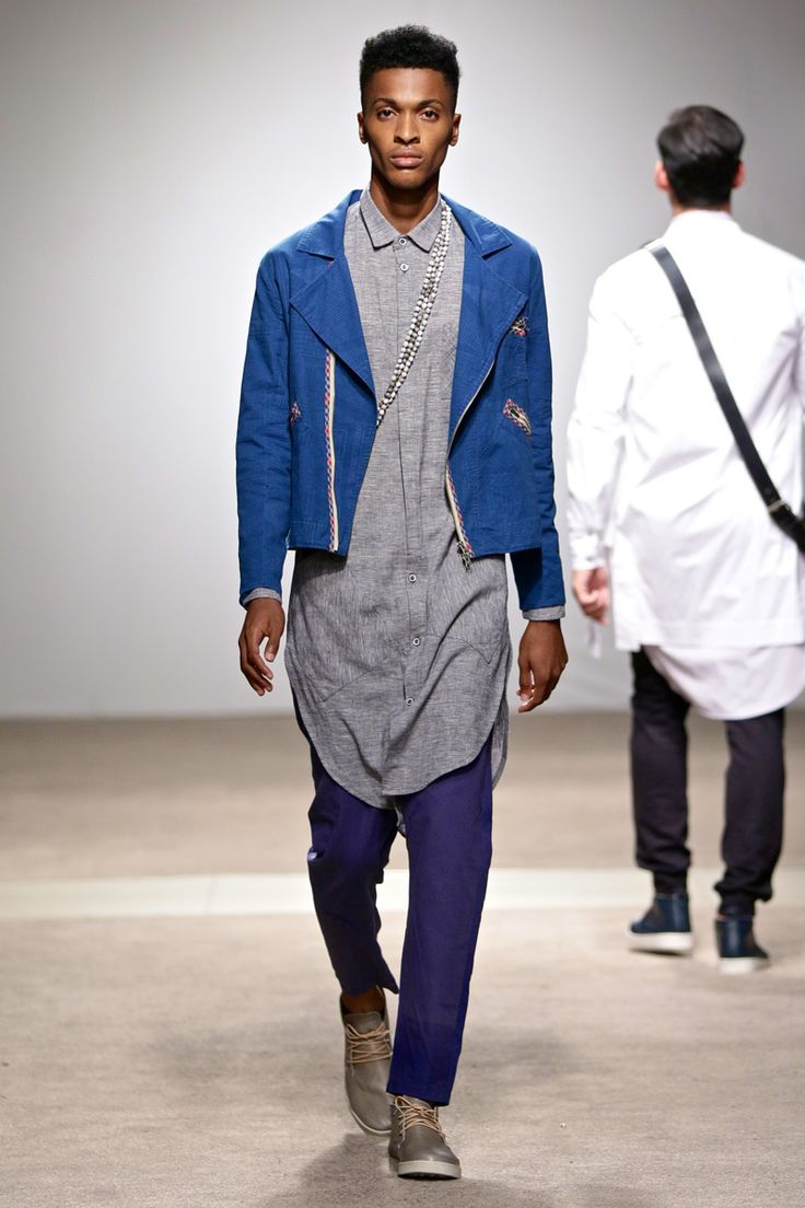 ALC Menswear AW17: Look 6 -- Photo: Simon Deiner at South African Menswear Week