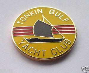 Vietnam Vet Pins | VIETNAM *** TONKIN GULF YACHT CLUB *** Military Veteran Hat Pin 14129 ...