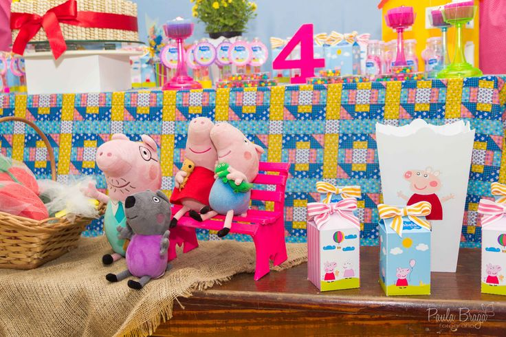 Peppa Pig Party , Festa Peppa Pig