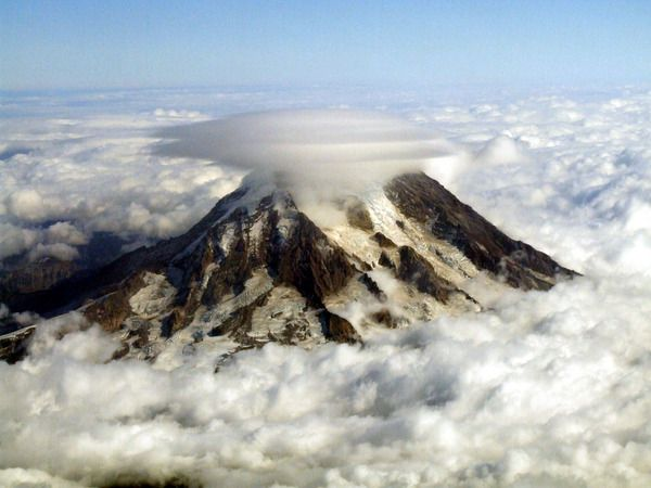 Monte Rainier. EE.UU.