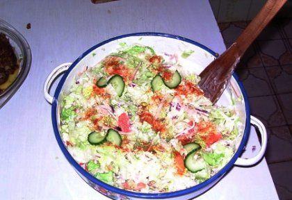 Majonézes fogyis saláta   NOSALTY – receptek képekkel