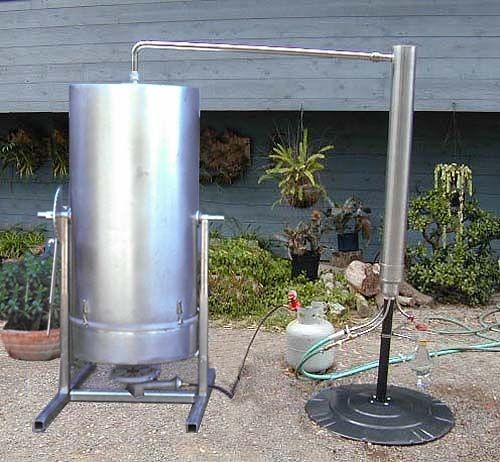 ESSENTIAL OIL Steam Distillation Steam Distiller | Farming ...