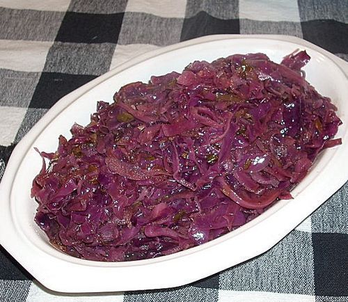 Sweet Red Cabbage With Cardamom.  Great Side For Any Meal. Particularly Great With German Food. Recipe.