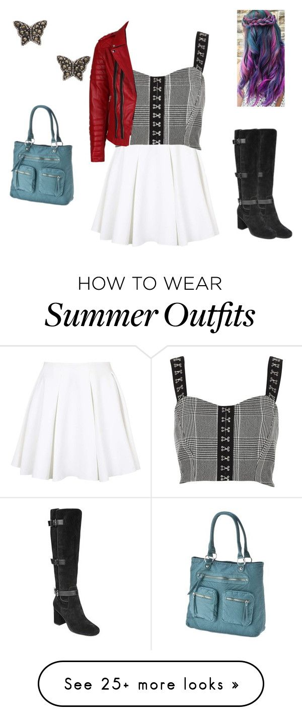 """""""Summer outfit 60"""" by estrellaojeda456 on Polyvore featuring Topshop, River Island, Accessorize, Linea Pelle and Franco Sarto"""