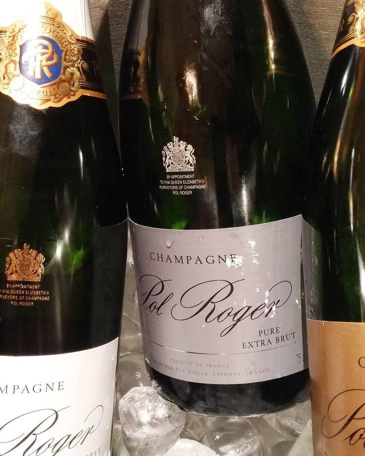 Pol Rogerin samppanjoita. @polroger #samppanja #grandchampagnehelsinki #viini#wines#winelover#winegeek#instawine#winetime#wein#vin#winepic#wine#wineporn herkkusuu #lasissa#skumppa #Herkkusuunlautasella