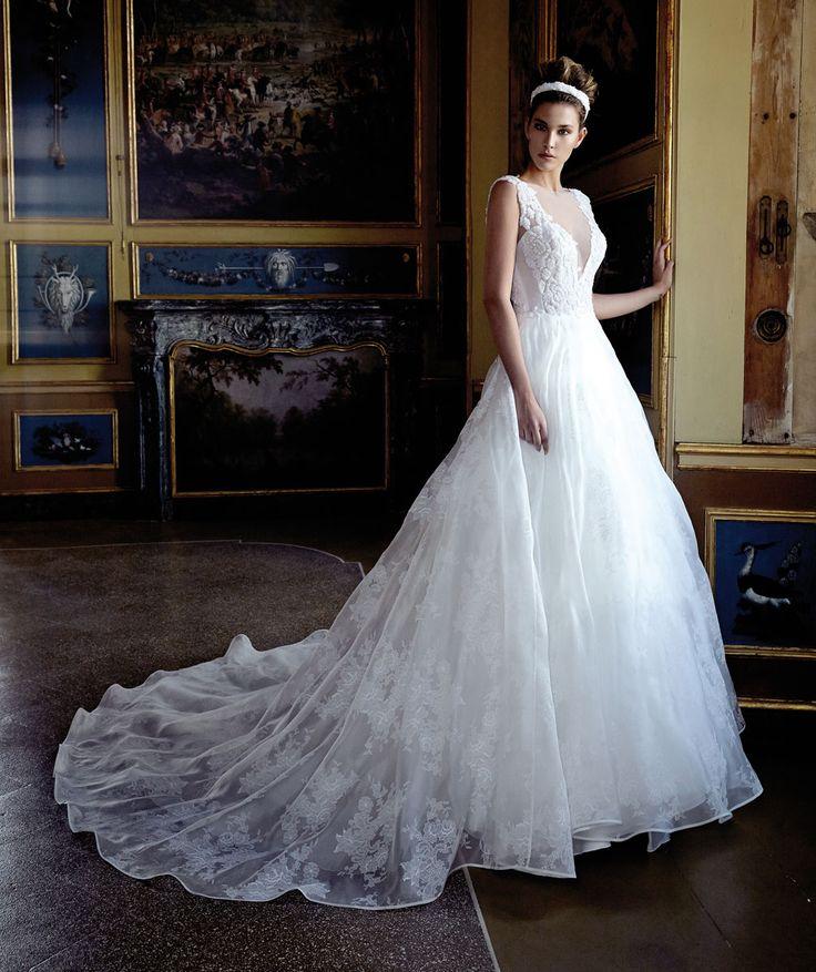 Fotogallery degli abiti da sposa Stefano Blandaleone Le Spose Collezione 2017
