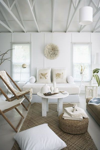 I love the monochromatic neutral palettes for the home, so easy to add pops of color and  change accessories to change the look/feel of the room