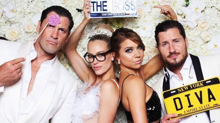 Val Chmerkovskiy and Jenna Johnson's PDA at Maks and Peta's Wedding Was Too Cute! - YouTube