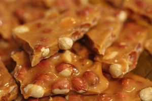 Peanut Brittle and My Merry Christmas Wishes