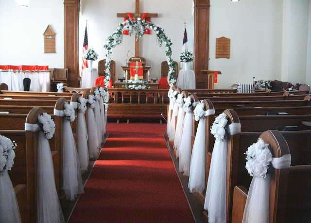 Bodas una Imagen, un Escaparate: Decoraciones para la Iglesia.