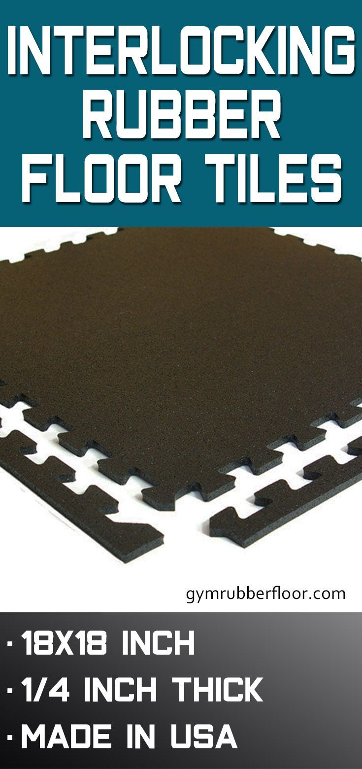 Interlocking Rubber Floor Tiles If You Re Looking For Durable Rubber Flooring That S Also Relati In 2020 Rubber Floor Tiles Rubber Tiles Interlocking Rubber Floor