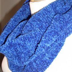 Snood douceur tricote main ultra doux