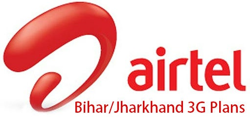 Airtel 3G Internet Plans in Bihar / Jharkhand for Dongles