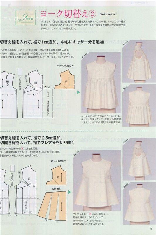 日本文化服装 2012年春号服装裁剪杂志 - 雪松 - sywy676893 的博客