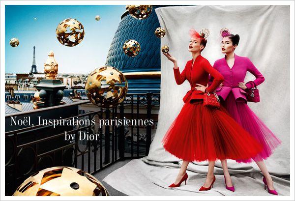 Noel, Inspirations parisiennes by Dior - Xmas 2012 Printemps Hausmann Paris