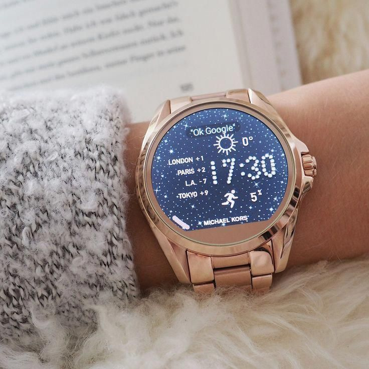 Michael Kors Access Smartwatch.one day!!! lol T O R I