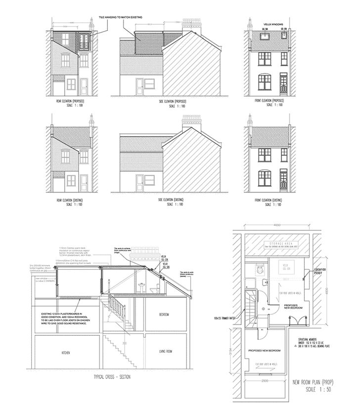 Victorian house l shaped dormer loft conversion with roof Dormer house plans