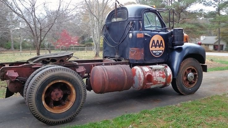 mack b series | is the Mack daddy of trucks, or it was five decades ago. The 1959 Mack ...