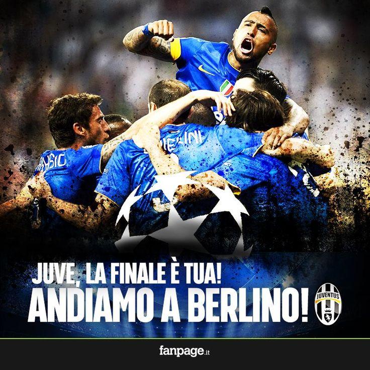 È finita! la Juventus conquista la Finale di UEFA Champions League e sfiderà il 6 giugno all'Olympiastadion il FC Barcelona di Leo Messi