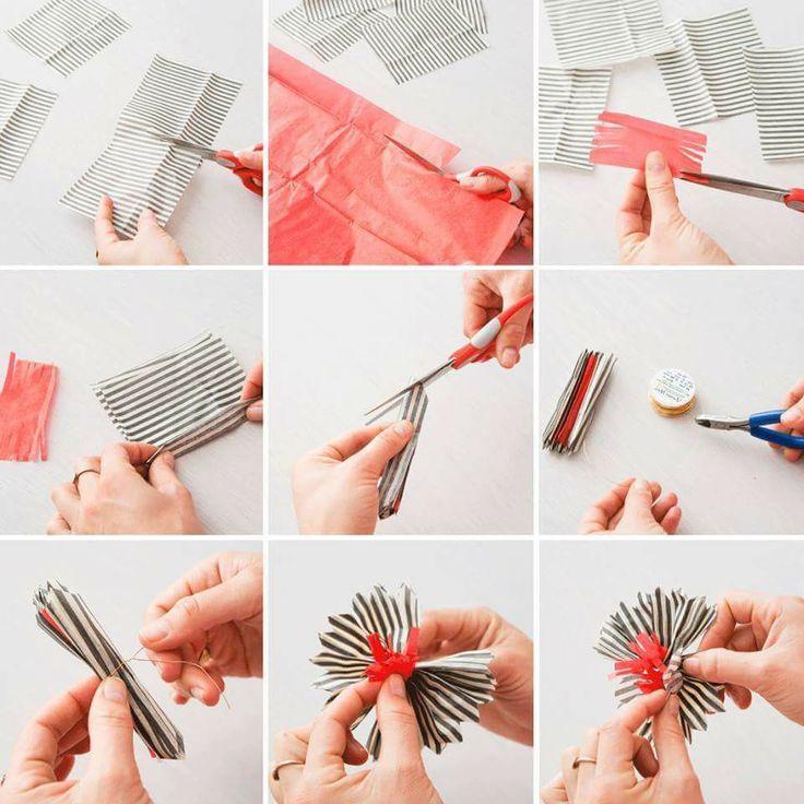 Manualidad: Flor de papel