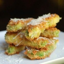 Avocado fries. These were awesome.