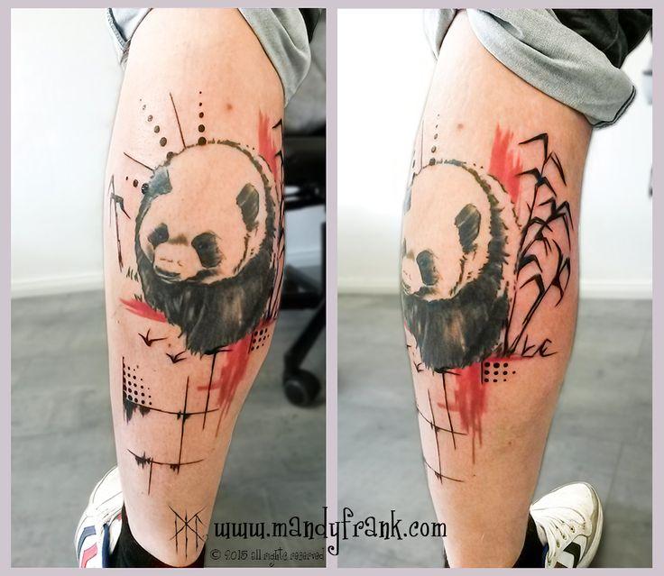 #panda #tattoo #artwork #mandyfrank #illustration #hamburg2016