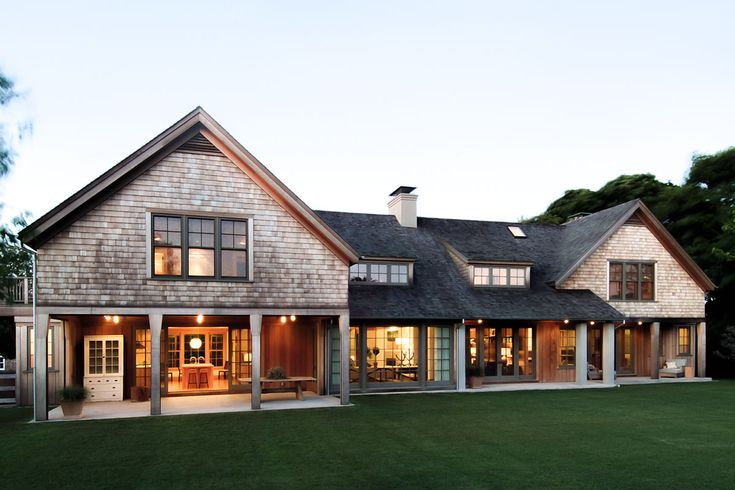 1000 ideas about cedar shingle homes on pinterest cedar for Hampton shingle style house plans