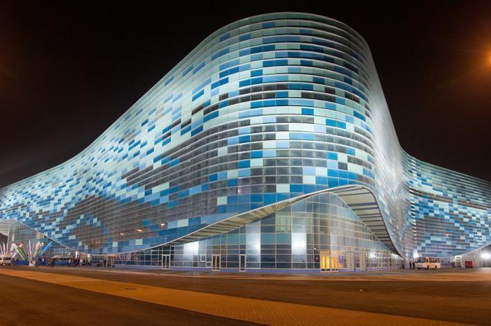 Iceberg Skating Palace -- Sochi 2014 #Olympics