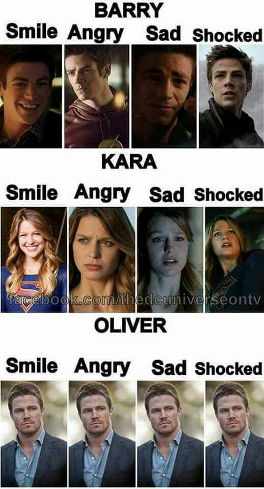 Ahahaha this is so true *sighs* Oliver Queen in a nutshell! Not rlly true but it's funny sooooo