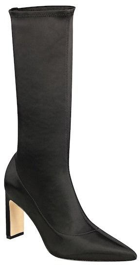 Sigerson Morrison Holly Satin Mid Calf Boot
