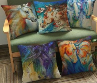 Shop24seven365 allows you to spoil the horse lover in your household with these beautifully coloured couch cushions. Available in various styles/colours. Only $18.80 when you buy from www.shop24seven365.com.au
