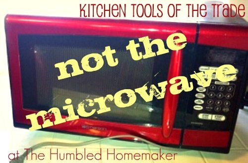 Healthy Home / Switching from microwave to toaster oven