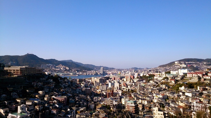 Nagasaki is a very beautiful city!
