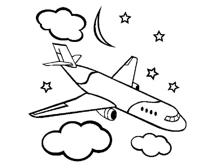 online preschool coloring pages - photo#11
