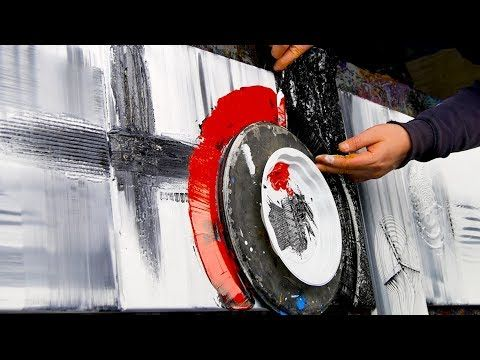 To Paint Simply Abstract Acrylic Art With Brush, Knife – New Pony – John Beckley – YouTube