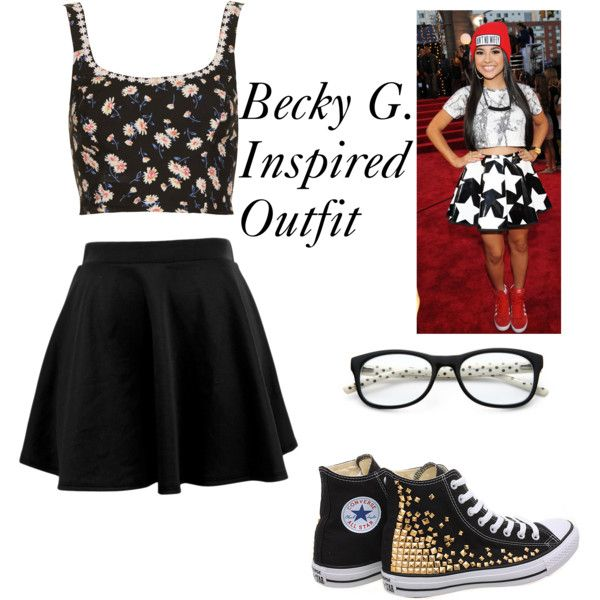 Becky G Inspired Outfit Outfits Pinterest G Shoes And Sets