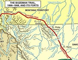 Bozeman Trail War 1866 Native Pinterest Native americans
