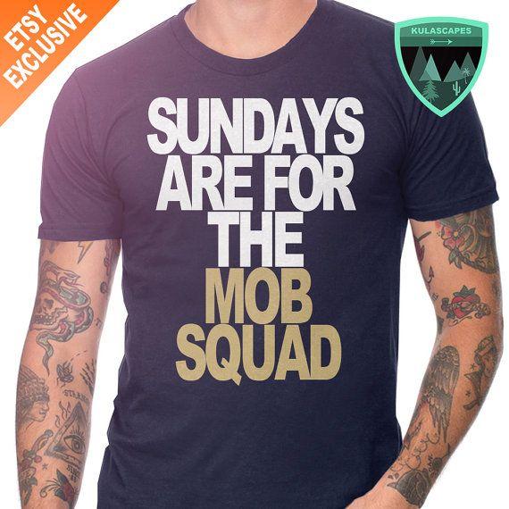 Los Angeles Rams Sunday Shirt, Sundays are for the Mob Squad Shirt, Rams Shirt, Sundays are for the Rams, LA Rams Shirt, LA Rams Gift