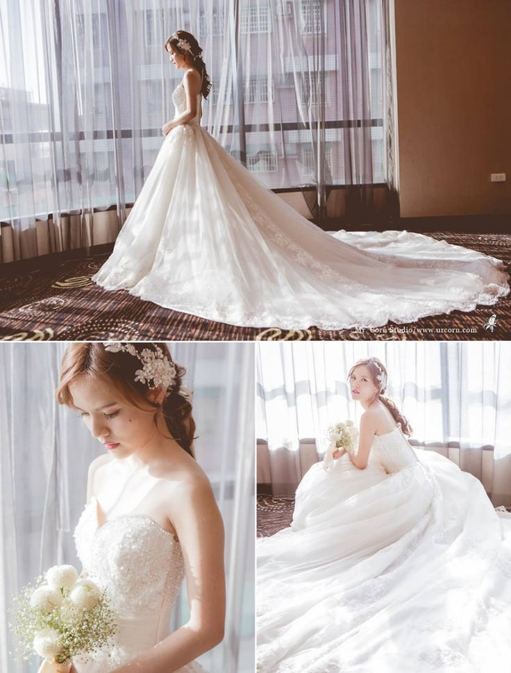 This Bride shows the definition of pure elegance!