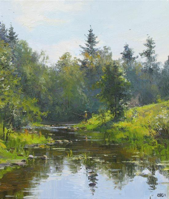 Efremov Alexey. Fisherman