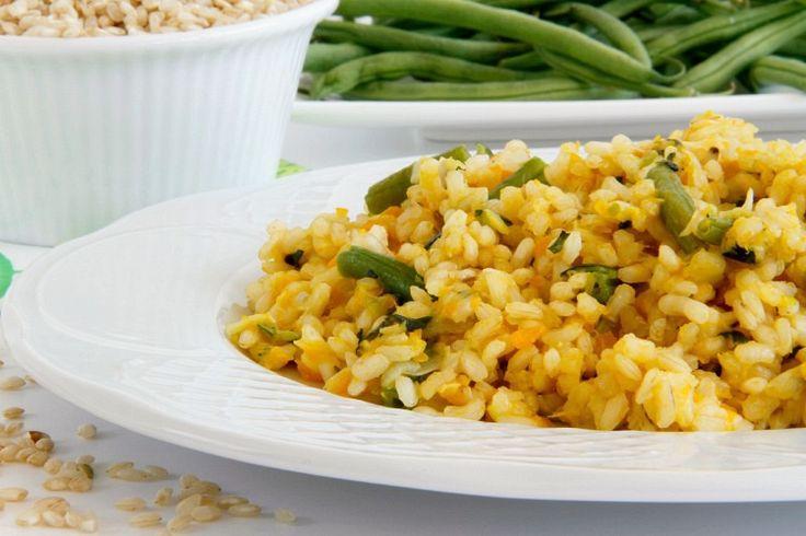 Arroz integral con verduras - MisThermorecetas