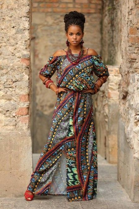 Jeniffer Nascimento, de 'Malhação', mostra sua beleza em moda afro